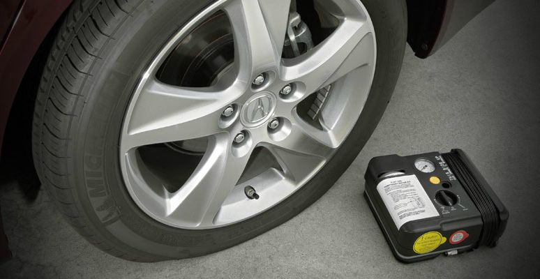 Tire Repair Kit Acura TSX Sport Wagon Acura Owners Site - Acura tsx sport wagon accessories